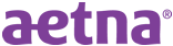 Aetna logo - purple